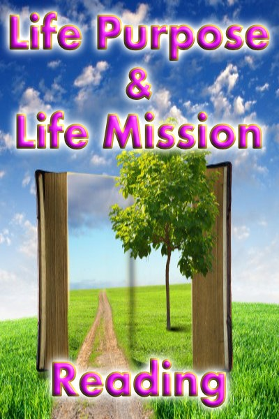 Life purpose mission small vertical banner